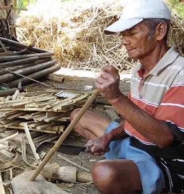 pengrajin bambu | craftkasongan