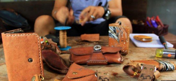 pengrajin kulit | craftkasongan